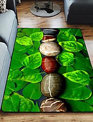 abordables -Dongguan pho_09tz (produit de super volume) fleurs 3d et herbe tapis de jardin impression tapis de salon chambre couverture de chevet enfants tapis d'escalade tapis de portique baie vitrée 80 * 120 cm