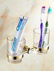 cheap -Toothbrush Holder Creative Contemporary Titanium Alloy 1pc - Bathroom Wall Mounted