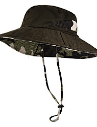 cheap -Boonie hat 1 PCS Portable Windproof Anti-Eradiation Comfortable Camo Cotton Autumn / Fall Spring Summer for Men's Women's Camping / Hiking / Caving Traveling Camouflage Grey Dark Blue / Winter