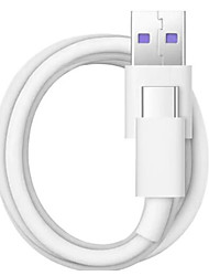 cheap -Type-C Cable 1.0m(3Ft) High Speed / Quick Charge TPE / ABS+PC USB Cable Adapter For Samsung / Huawei