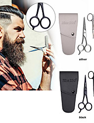 cheap -Mens Beard Grooming and Trimming Kit Beard Bristle Brush Beard Comb and Mustache Scissor Male Facial Beard Cleaning Tool