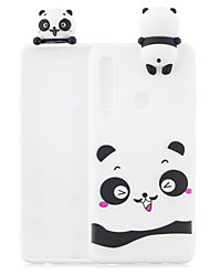 cheap -For Samsung A9 2018 3D Cartoon Lovely Coloured Painted Soft TPU Back Cover Non-slip Shockproof Full Protective Case