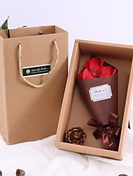 Недорогие -Искусственные цветы Ткань Стиль Букет Букеты на стол Букет 3