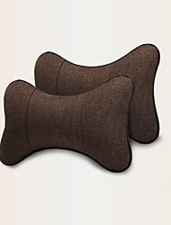 Недорогие -2 шт автокресло подушка для шеи отдыха дышащие удобные подушки поддержки головы автомобиля