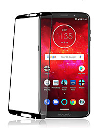 Недорогие -защитная пленка для экрана Motorola Moto Z3 Play / Moto Z3 высокой четкости (HD) Защитная пленка для экрана из закаленного стекла черного цвета