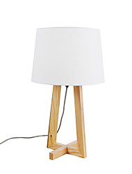 cheap -Modern Contemporary Ambient Lamps / Decorative Table Lamp / Reading Light For Bedroom / Study Room / Office Wood / Bamboo 110-120V / 220-240V