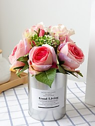 Недорогие -Искусственные цветы Полиэстер Modern нерегулярный Букеты на стол нерегулярный 1