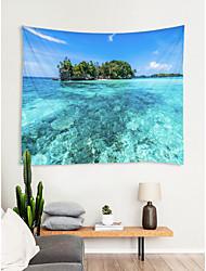 cheap -Beach Theme / Classic Theme Wall Decor 100% Polyester Classic / Mediterranean Wall Art, Wall Tapestries Decoration