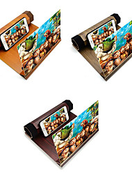 cheap -Folding Desk Wooden Stand Mobile Phone Display Magnifier 3D HD Video Phone Stand