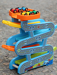 cheap -Track Rail Car Ramp Racer Race Car Race Car Relieves ADD, ADHD, Anxiety, Autism Hand-made Parent-Child Interaction Wooden Teen All Toy Gift 3 pcs