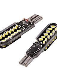 cheap -2PCS/LOT T10 led W5W 48 led 3014 Flash Strobe RGB canbus light no Error Car Light Source Indicator blink Light Parking Lamp 12V