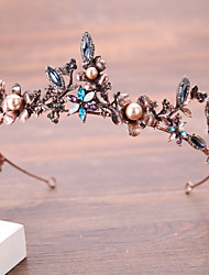 cheap -Black Swan Wreaths Retro Vintage Gothic Alloy Headpiece Masquerade For Party / Cocktail Festival Halloween Carnival Women's Costume Jewelry Fashion Jewelry / Crown