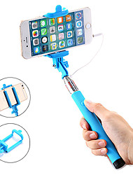 cheap -Selfie Stick Wired Extendable Max Length 100 cm For Android / Universal / iOS Android / iOS Universal