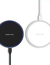 Недорогие -10 Вт быстрое беспроводное зарядное устройство для Samsung Galaxy S9 / S9 S8 S7 Note 9 S7 край USB QI зарядная площадка для Iphone XS Макс XR X 8 плюс