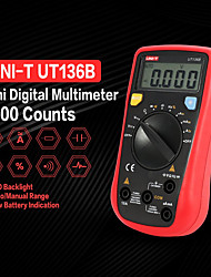 cheap -UNI-T UT136B Mini Handheld Digital Multimeter Auto Range AC/DC Voltage Current Resistance Capacitance Frequency Tester