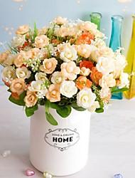 Недорогие -10 шт. Искусственный цветок 15 дикая трава роза цветок искусственный цветок украшения дома гостиная подарок размещение