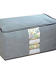 cheap -Quilt Pillows Blanket Clothing Large Storage Bag for Summer Winter Duvets Newest Color:Gray