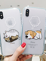 cheap -Case For Apple iPhone 11 / iPhone 11 Pro / iPhone 11 Pro Max Pattern Pouch Bag Animal Soft TPU