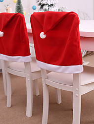 cheap -Decorative Christmas Hat Style Chair Back Seat Cover