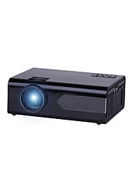 cheap -GP18 LCD Projector Android 6.0 Wifi 800 Lumens 800x480P Resolution 20001 Contrast Ratio Home Theater Projector