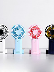 cheap -1Pc Large Capacity Large Wind Usb Charging Fan Handheld Silent Small Mini Fan