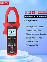 Недорогие -измеритель мощности и гармоник uni-t ut243 true среднеквадратичный зажим измеритель мощности хранение данных передача данных через usb / подсветка жк-дисплея