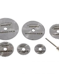 cheap -7PCS Mini Circular Saw Blades Set for Electrical Grinding Machine Rotary Tool