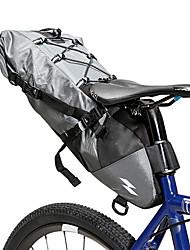 cheap -10 L Bike Saddle Bag Waterproof Portable Wearable Bike Bag 500D Nylon Waterproof Material Bicycle Bag Cycle Bag Cycling Outdoor Exercise Bike / Bicycle