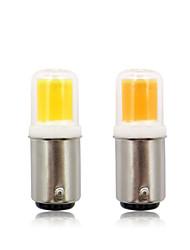 Недорогие -ba15d светодиодная лампа 3 Вт 110 В 220 В переменного тока без затемнения 300 люменов 1515 светодиодная лампа белый теплый белый для люстры швейная машина 1 шт.