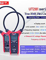 cheap -UNI-T UT281E True RMS Flex Clamp 3000A AC True RMS Flexible Current Meter Resistance/Frequency/Inrush current measurement