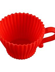 abordables -Yiwu pho_07yp2 / 12pcs silicone gâteau tasse muffin tasse oeuf tarte tasse gâteau moule moule pudding non toxique haute température moule 2pcs