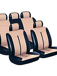 cheap -Car Seat Covers Seat Covers Polycarbonate / Other Leather Type Common For universal All years Five seats