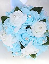 cheap -Wedding Flowers Bouquets Wedding / Wedding Party Bead / PORON 11-20 cm