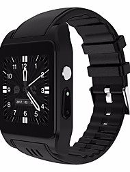 cheap -Smartwatch Digital Modern Style Sporty Silicone 30 m Water Resistant / Waterproof Heart Rate Monitor Bluetooth Digital Casual Outdoor - Black Silver