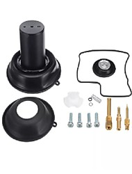 cheap -Carburetor Diaphragm Plunger w/Needle Repair Kit For Honda Steed Shadow VLX 400