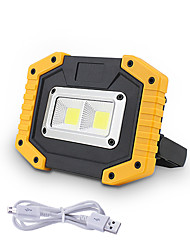 cheap -1pc 30 W COB Lighting  Outdoor Camping Light Emergency Portable Light Mobile Power Search Lawn Lamp Waterproof Courtyard 2 LED Beads