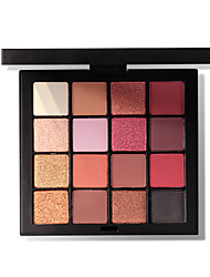 cheap -16 Colors Eyeshadow Nursing Simple Odor Free Women Best Quality Youth Normal Casual / Daily Safety Daily Makeup Cosmetic Gift