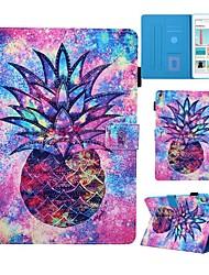 Недорогие -Кейс для Назначение Apple iPad Air / iPad (2018) / iPad Pro 11'' Бумажник для карт / со стендом / С узором Чехол Продукты питания Кожа PU