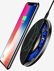 cheap -For Samsung Galaxy S8 S9 S10 Plus QI Wireless Charger Fast Charging Dock Mat Pad