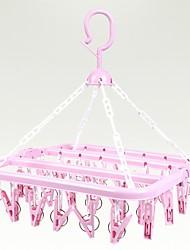 cheap -Plastic / PVC Foam Board Multi-function / Foldable / Multilayer Socks / Underwear / Tie Hanger, 1pc