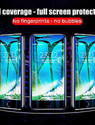 cheap -35D Full Cover Soft Hydrogel Film For iphone 6 6S 7 8 Plus X 10 Screen Protector On The For iphone 6 6S 7 8 XR XS Film Not Glass