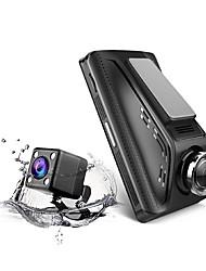 Недорогие -v350 1296p беспроводной автомобильный видеорегистратор широкоугольный 3,5-дюймовый amoled видеорегистратор с автомобильной регистрацией мониторинга парковки