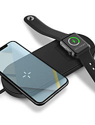 cheap -Smartwatch Charger / Portable Charger / Wireless Charger USB Charger USB Wireless Charger 1.67 A DC 9V / DC 5V for Apple Watch Series 3 / Apple Watch Series 2 / Apple Watch Series 1 iPhone X / iPhone