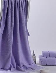 cheap -Superior Quality Beach Towel, Solid Colored 100% Cotton Bathroom 1 pcs