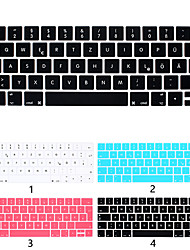 cheap -European Version Of German Keyboard Film Apple Laptop Keyboard Protective Film For MacBook Air Pro Retina 11/12/13/15 Inch Solid Color Silicone