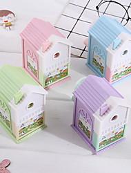cheap -pencil sharpener cute house Stationery School Supplies