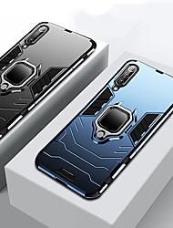 cheap -Armor Ring Stand Case For Xiaomi Mi 9 SE Mi 9 Shockproof Case Cover Mi 8 Lite Mi 8 SE Mi 8 Mi Max 3 Mi 6X Mi 5X Soft Silicone TPU Car Holder Case