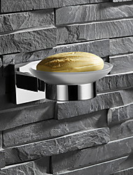 cheap -Soap Dishes & Holders Creative Contemporary Stainless Steel 1pc - Bathroom Wall Mounted