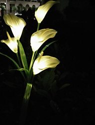 Недорогие -LED Night Light Творчество Солнечная энергия 1шт