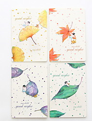 cheap -2pcs Notepads 20.4*13.8 cm for Computer/Notebook 100% Linen Random Color